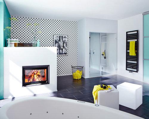 scandinavian bath design ideas pictures remodel decor. Black Bedroom Furniture Sets. Home Design Ideas
