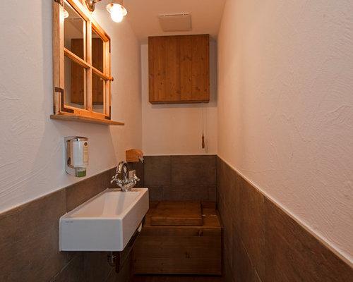 Badezimmer Im Chalet Stil