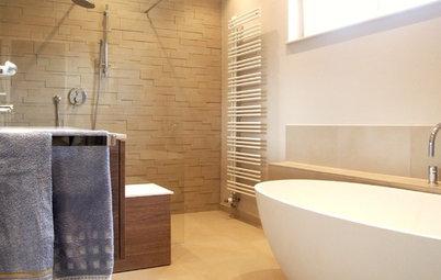 Vorher-Nachher: Bad und WC in Königstein werden zeitlos modern