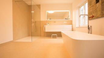 badezimmer modern.