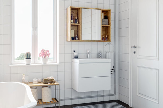 Modern Badezimmer by Holzconnection