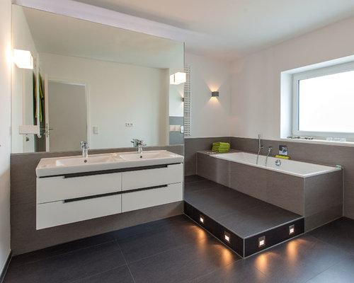 Moderne Badezimmer: Design-ideen & Beispiele Für Die Badgestaltung ... Moderne Badezimmer Bilder