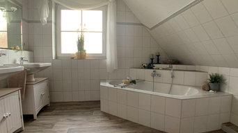 Badezimmer von 2003 - modernisiert