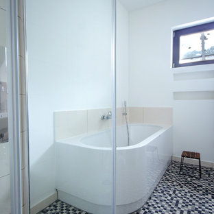 Badgestaltung und -planung in einem 60er Jahre Architektenhaus