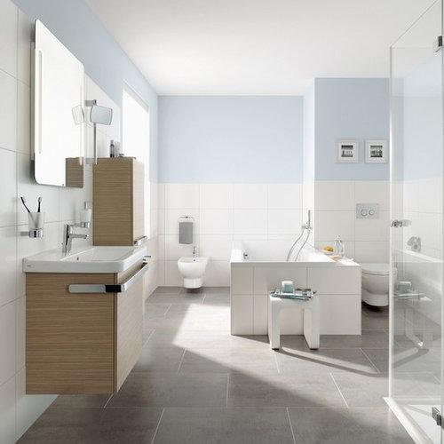 Salle de bain avec un plan vasque Francfort : Photos et ...