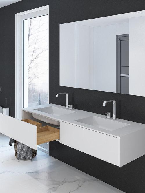 Moderne Waschtische moderne waschtische fürs badezimmer corian