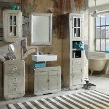 Badmöbel - Shabby-Chic-Style - Badezimmer - Hannover - von ...