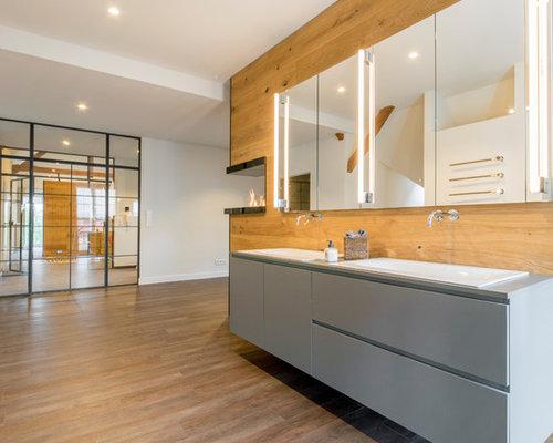 Badezimmer Mit Laminat-Waschtisch Ideen, Design & Bilder | Houzz