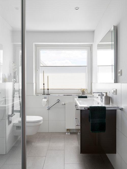 Moderne Badezimmer mit offener Dusche Ideen, Design & Bilder | Houzz