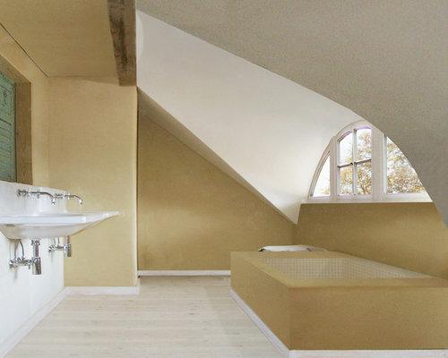 bathroom design ideas renovations photos with a trough. Black Bedroom Furniture Sets. Home Design Ideas