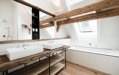Wie der Waschtisch zum Star im Bad wird