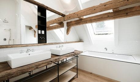 Der Waschtisch gibt im Bad den Ton an
