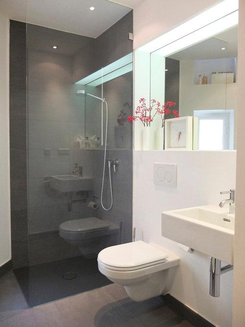 moderne duschb der mit bodengleicher dusche ideen. Black Bedroom Furniture Sets. Home Design Ideas