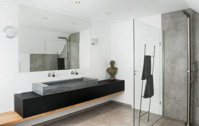 Schwerwiegend: 100 Kilogramm Industrie-Charme für ein Badezimmer