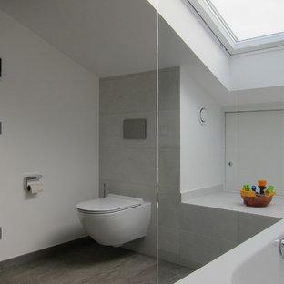 Salle de bain avec un lavabo suspendu Bonn : Photos et idées ...