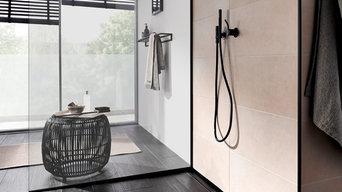 Bodengleiche Dusche mit BLANKE AQUA PROFILEN