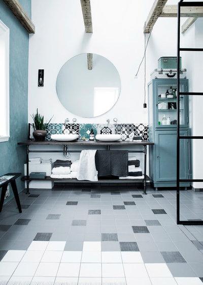 Mediterranean Bathroom by COPENHAGEN BATH DENMARK