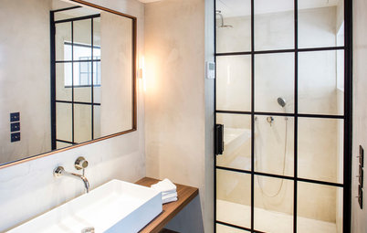 13 Möglichkeiten, die Dusche vom Badezimmer zu trennen