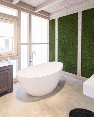 Модернизм Ванная комната by bro fr bauform