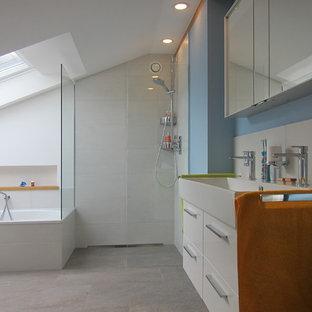 Salle de bain avec une douche à l\'italienne Bonn : Photos et idées ...