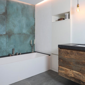 """Das neue Badezimmer """"Waldbühne"""""""