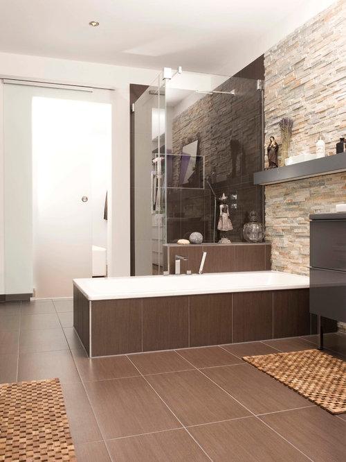 moderne badezimmer mit eckdusche ideen design bilder houzz. Black Bedroom Furniture Sets. Home Design Ideas