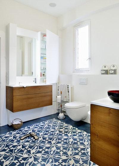 Modern Badezimmer by Sarah Maier Handgewerke GmbH