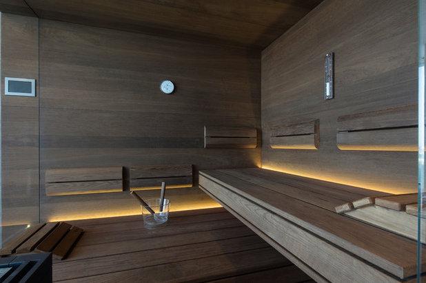 Modern Badezimmer by corso sauna manufaktur gmbh