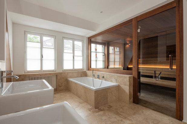 Maßarbeit für eine Design-Sauna im Altbau