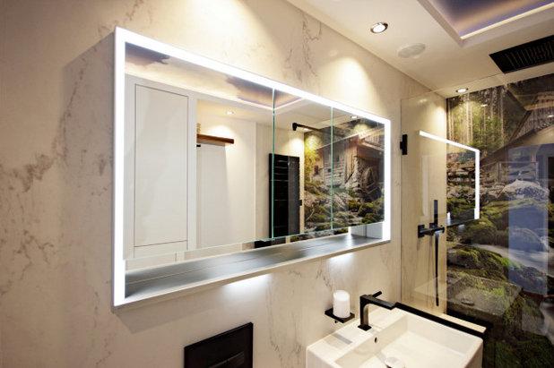 Modern Badezimmer by ZOTZ Werkstätten