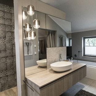 Salle de bain industrielle Munich : Photos et idées déco de salles ...