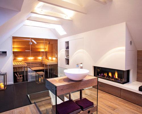 badezimmer mit sauna design ideen beispiele f r die badgestaltung. Black Bedroom Furniture Sets. Home Design Ideas