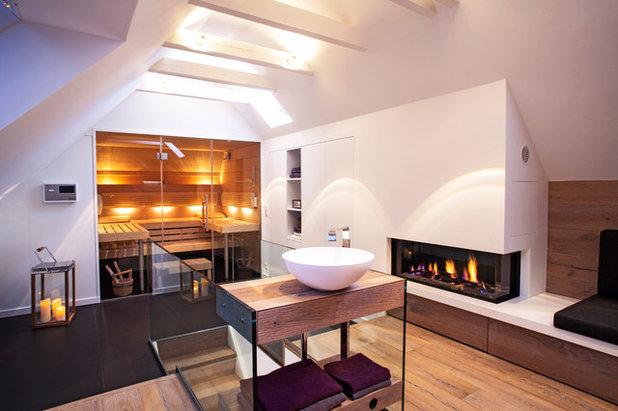 Modern Badezimmer by schulz.rooms