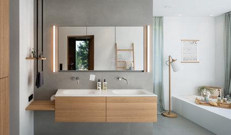 5 aktuelle Vorlieben der Houzz-User bei der Badgestaltung