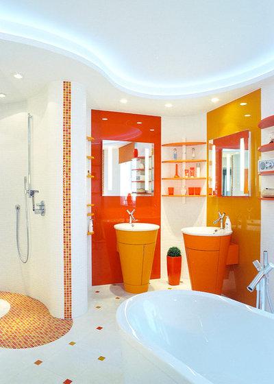 Contemporáneo Cuarto de baño by id die raumidee