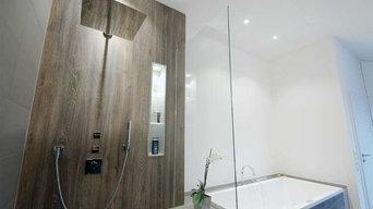 Exklusive Neugestaltung eines bestehenden Badezimmers