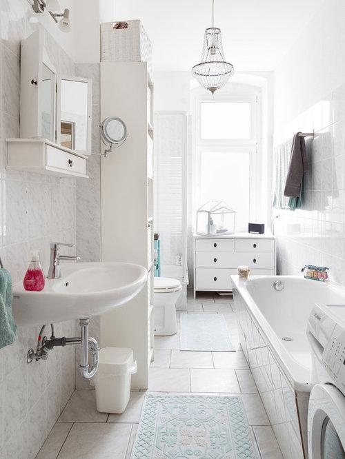 Kleines Skandinavisches Badezimmer In Berlin