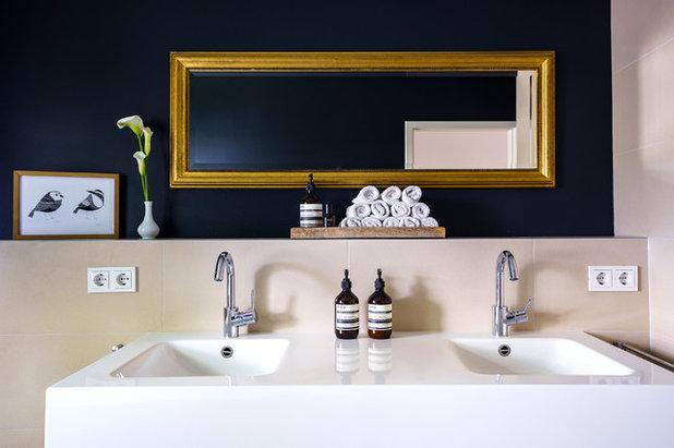 Contemporary Bathroom by Balanced Home