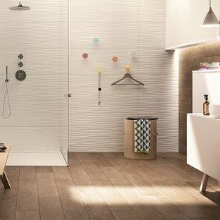Salle de bain avec un plan de toilette en granite Stuttgart : Photos ...