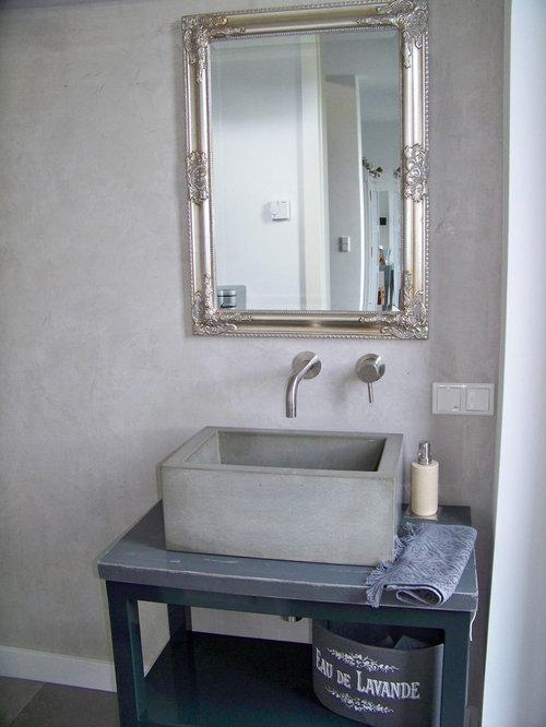 Wandgestaltung Im Neubau   Gäste WC