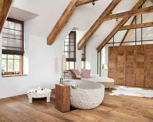 Badezimmer landhausstil  Bad im Landhausstil - Ideen, Design & Bilder