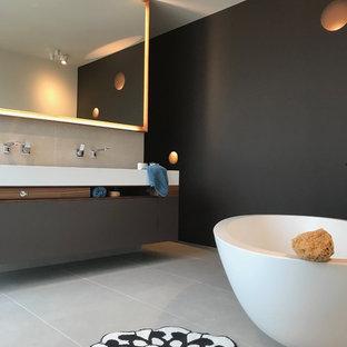 75 most popular mid-sized modern bathroom design ideas for