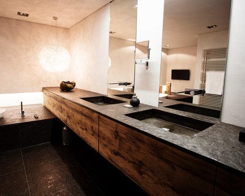 Rustikale badezimmer ideen f r die badgestaltung houzz for Badezimmer ideen rustikal