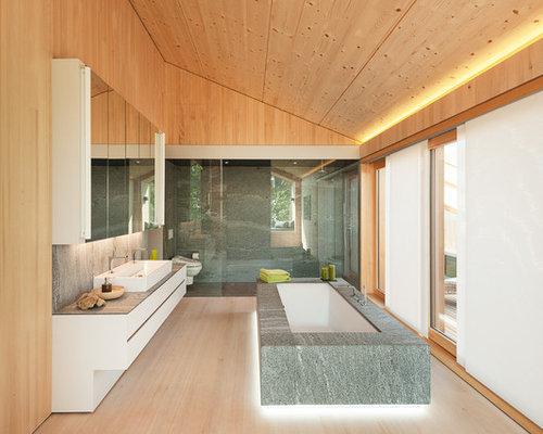 Handfat Funkis : Foton och badrumsinspiration för mycket stora badrum med ett