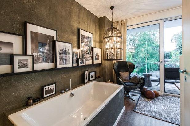 Rustikal Badezimmer by BRODOWY Exklusive Flächengestaltung