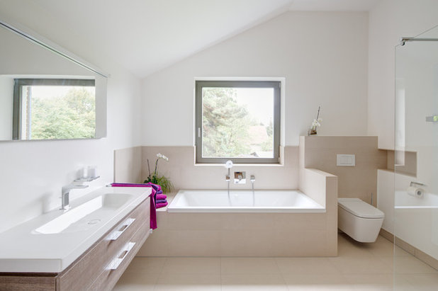 Contemporain Salle de Bain by k² Architektur