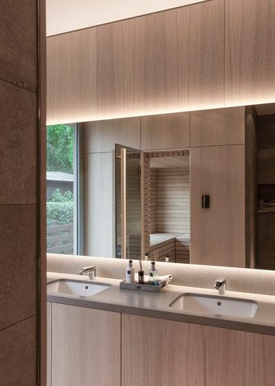 Bauhaus Keramag Waschbecken Houzzbesuch Die Coole Stadtflucht Ins  Wandlitzer Holzhaus With Badezimmer Bauhaus