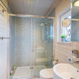 Salle de bain avec un sol en vinyl Hambourg : Photos et idées déco ...