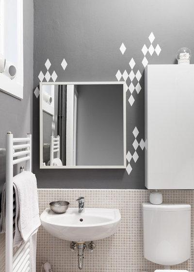 Scandinavian Bathroom Houzzbesuch: Stefanie Luxat