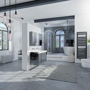 Salle de bain de luxe Hanovre : Photos et idées déco de salles de bain